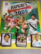 LOT ALBUM VIDE PANINI RUGBY 2009 avec 447 IMAGES SANS DOUBLES A COLLER