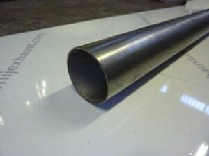 "4"" /100mm Diameter 1 metre Stainless Steel Exhaust Straight Tube Pipe 1m 100cm"