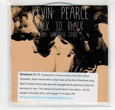 (GM789) Kevin Pearce, Back To Black - Amy Winehouse cover - 2015 DJ CD