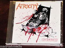 Atrocity: Contaminated CD 2007 Open Grave Records USA