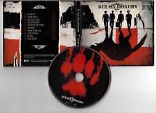 """DIE ON MONDAY """"Black Cat"""" (CD Digipack) 2010"""