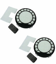 2 x Type 69 Hepa Filter Kit For Vax C87-PVXP-P , C87-VC-B Vacuum Cleaners