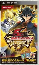 USED PSP  yu-gi-oh! 5d's tag force 6 sony playstation