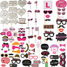 Full Set Hen Party Selfie Photo Props Booth Night Games Wedding Accessories kit