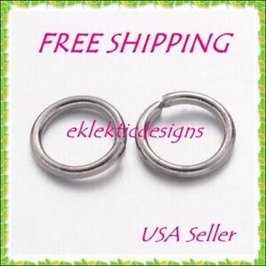 VALYRIA 1 Box 7 Colors 2800pcs 3mm Open Jump Rings Jewelry Making Findings with Jump Ring Opening and Closing Tool