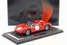 Ferrari 250P Prensa Versión 1963 Corsa Rojo 1:18 Bbr