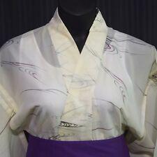 "Vintage Japanese Summer Kimono Robe ""Cool Waters"""