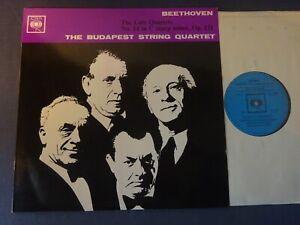 BEETHOVEN - STRING QUARTET NO 14 LP, Budapest Q/T, CBS BRG 72102
