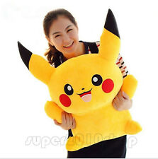 60CM Big Digimon Pikachu Pokemon go Plush Giant Large Stuffed Toy Doll Pillow