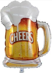 Beer Mug Cheers Balloon Wedding Anniversary Pool Birthday Party Supply