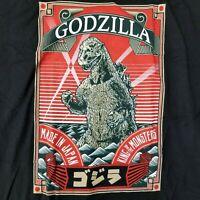 Godzilla Men's XL T-Shirt Japan Licensed Movie Merch Anti Hero Kaiju Gojira