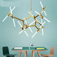 Industrial Modern Metal Glass Branch Chandeliers Lighting Pendant Ceiling Light