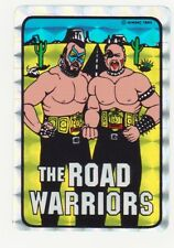 The Road Warriors 1985 WMMC Wrestling WWF WWE NWA AWA PRISM STICKERS