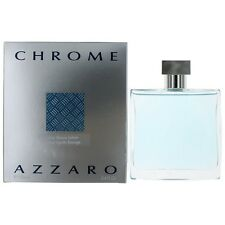 AZZARO CHROME 100ML AFTER SHAVE LOTION SPLASH BRAND NEW & SEALED