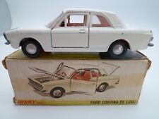 VINTAGE DINKY 159 FORD CORTINA MKII DELUXE IN ORIGINAL BOX ISSUED 1967-69