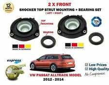 FOR VW PASSAT ALLTRACK 2012-2014 2X FRONT SHOCKER TOP STRUT MOUNTINGS + BEARING