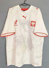 Puma Men'S Poland National 2006/2007 Polska Soccer Football Shirt Jersey Size Xl
