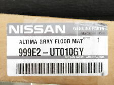 Genuine OEM Nissan 999E2-UT010GY Carpeted Floor Mats Frost Gray 2007-2012 Altima