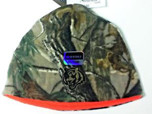 """Cincinnati Bengals Hat Reversible Comouflage/Orange """"REALTREE""""  Beanie by Reebok"""