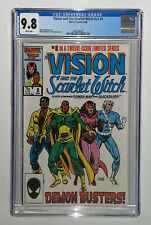 Vision and the Scarlet Witch v2 #8 1986 CGC 9.8 White Pages WandaVision