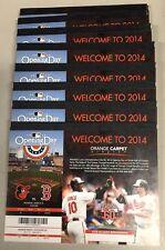 2014 MLB BALTIMORE ORIOLES BASEBALL PARTIAL SEASON PLAN FULL TICKETS BOOK (10)