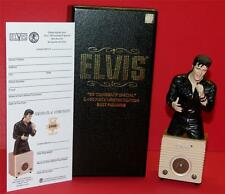 "ELVIS PRESLEY '68 COMEBACK SPECIAL LIMITED EDITION BUST FIGURINE ""Only 2400 pcs"""
