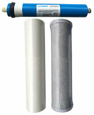 More details for reverse osmosis 3 stage ro unit replacement pre filters including membrane