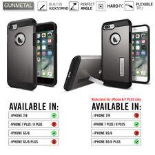 Genuine Official Spigen iPhone 7 Case Tough Armor Gunmetal 042CS20489