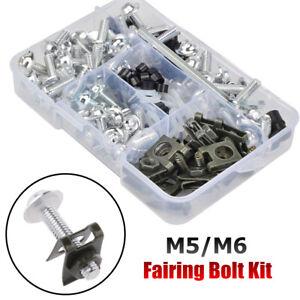 Stainless Steel Motorcycle Fairing Body Bolt Kit Screw Spire Speed Fastener Set
