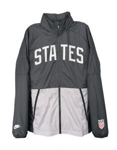 Nike USA National Team Full Zip Windbreaker Hooded Jacket CN7075-010 Pick Size