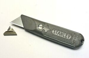 Vintage Stanley #199 Utility Knife_Fixed blade_includes 10 New Old Stock blades