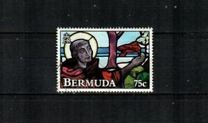 BERMUDA Scott's 636 ( 1v ) Stained Glass Window F/VF Used ( 1992 )