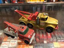 Esso X 2 Lesney Breakdown Trucks Diecast Vintage