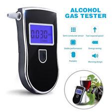 Portable LCD Police Digital Breath Alcohol Tester Breathalyzer Analyzer Detector