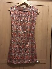 Womans Glamorous Fully Front Sequin Bodycon Dress UK Size 8 RRP £29.99