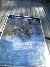 LOT OF 5 VINTAGE STAR WARS MOVIE POSTERS