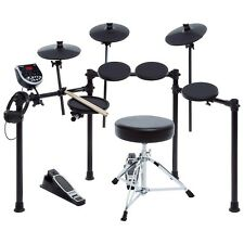 Alesis Burst Electronic Drum DM6  Kit Headphones, throne and drum sticks include