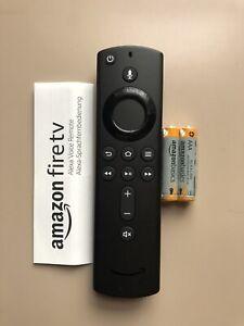Amazon Alexa Voice Remote Control for Fire Tv Sticks with Power & Volume Button