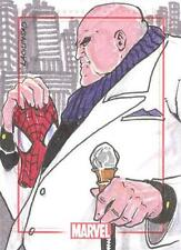 Marvel 75th Anniversary Sketch Card Spider-Man Mask The Kingpin Rainier Lagunsad