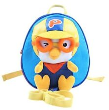 PORORO Animation Safety Strap backpack Character Toy bag Blue