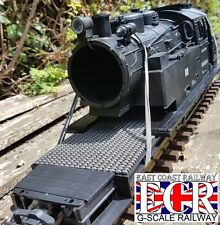 G SCALE 45mm GAUGE LOCO BODY SCRAP YARD XL EXTRA LONG FLATBED RAILWAY FLAT TRAIN
