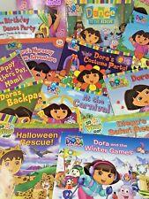 Lot 10 DORA the Explorer DIEGO childrens picture books RANDOM titles FREE SHIP