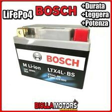 LTX4L-BS BATTERIA LITIO BOSCH YTX4L-BS LifePo4 0986122600 YTX4LBS MOTO SCOOTER Q