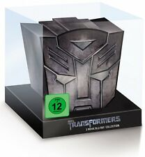 Transformers 1+2+3 - Limited Autobot Collection - 3-BLU-RAY-BOX-NEU