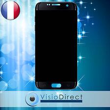 Ecran complet pour Samsung Galaxy S7 Edge G935F noir vitre tactile+LCD+châssis