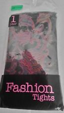 Direct From Europe Fashion Tights 1 Pair   Size S / M    Purple