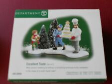 Dept 56 Christmas In The City Accessory Excellent Taste Nib