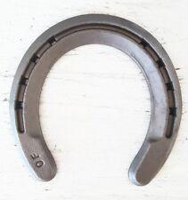 New Steel Horseshoes - Rim Shoe Size 0 -Sand Blasted- Heritage Forge - 20 Shoes