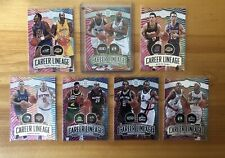 ILLUSIONS CAREER LINEAGE INSERTS LOT: SHAQUILLE O'NEAL EMERALD SP, NASH, LEONARD