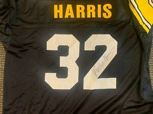 NFL CHAMPION XL 48 SIGNED AUTOGRAPHED JERSEY PITTSBURGH STEELERS  FRANCO HARRIS